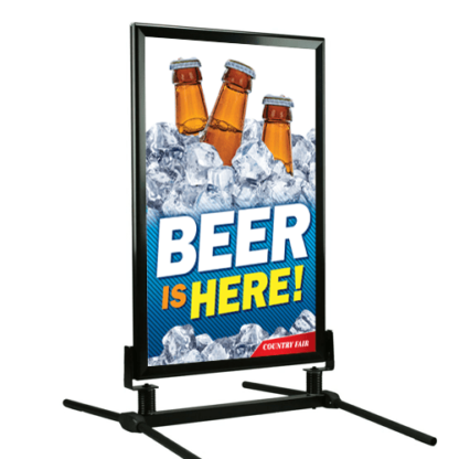 Classic Curb Frame with Beer Insert