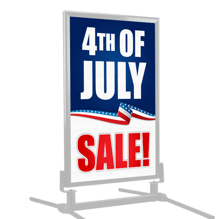 9352813a10fd 4th of July Sale Curb Side Sign Windmaster Frame