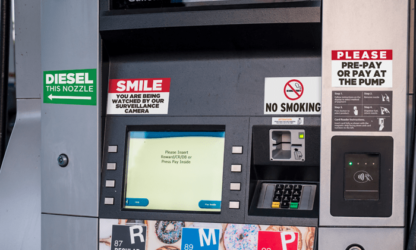 Gas Pump Decals