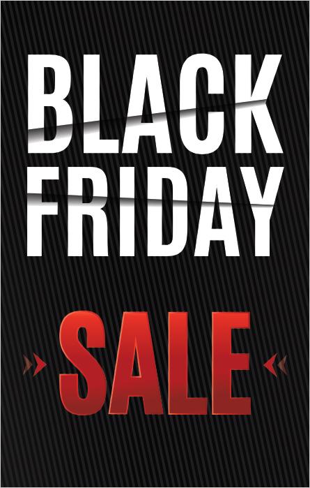 b540cc4d063d Black Friday Sale Poster Frame Insert