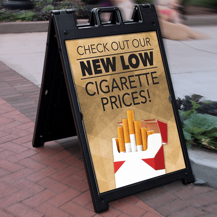 Deluxe Signicade Plasticade A Frame Wilde Signs Sidewalk Sign