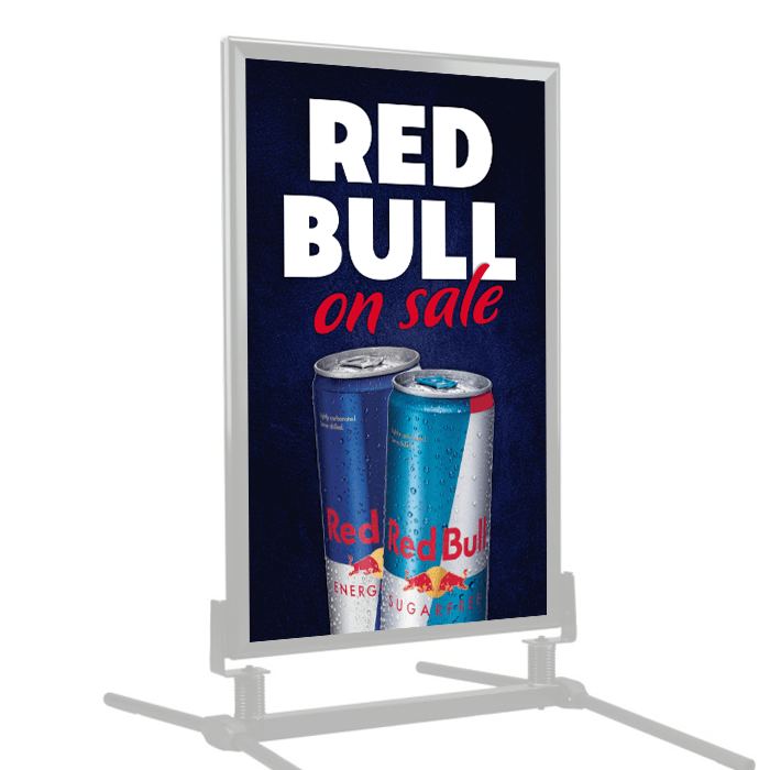 Red Bull on Sale | Poster Frame Insert | Stock Signs and Frames