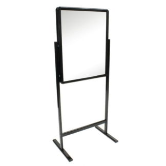 Snap Lock Poster Stand Black