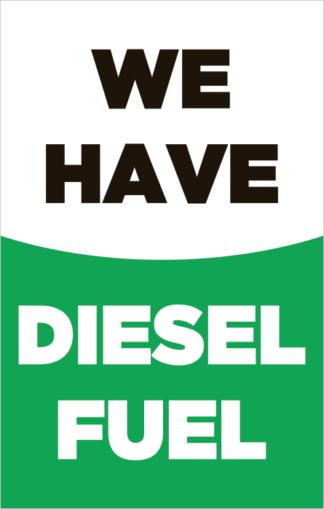 We Have Diesel Fuel Poster Frame Insert