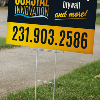 Yard Sign Ground Stakes