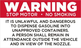 General Pump Warning
