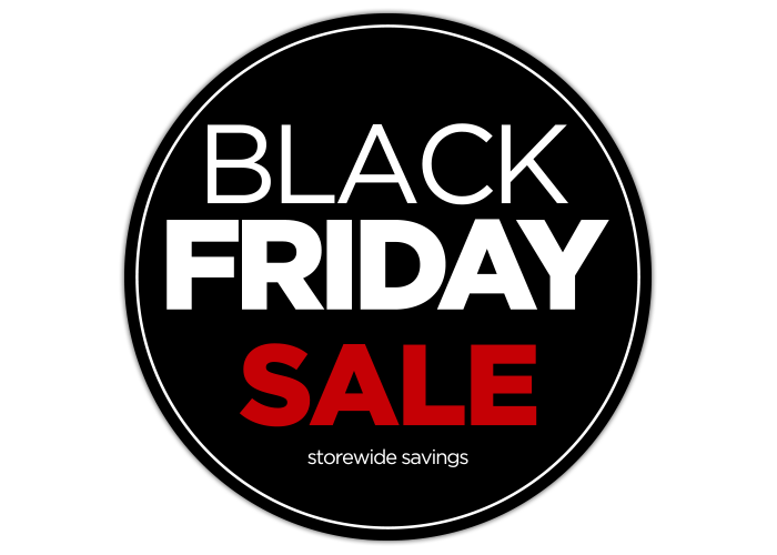 Black Friday Sale Window Graphics Wilde Signs